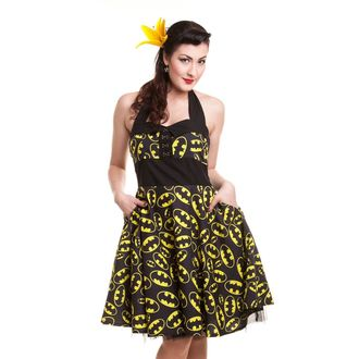 dress women BATMAN - Batman Logo - Black, POIZEN INDUSTRIES