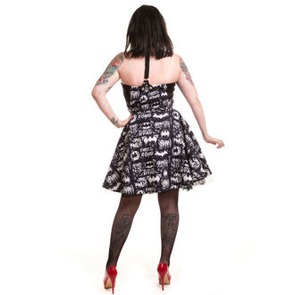dress women BATMAN - Graffiti - Batman - Black, POIZEN INDUSTRIES