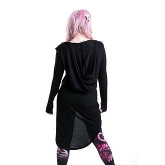sweater women's POIZEN INDUSTRIES - Vent Cardigan - Black - POI058