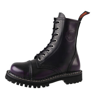 leather boots unisex - KMM - Dee Purple-080