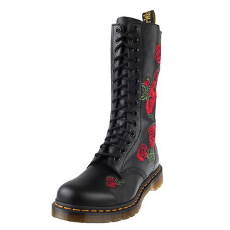 leather boots women's - 14 dírkové - Dr. Martens, Dr. Martens