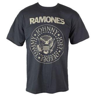 t-shirt metal Ramones - Distress Crest - BRAVADO, BRAVADO, Ramones
