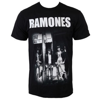 t-shirt metal men's Ramones - Legends CBGB - BRAVADO, BRAVADO, Ramones
