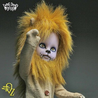 doll LIVING DEAD DOLLS - Teddy as The Lion, LIVING DEAD DOLLS