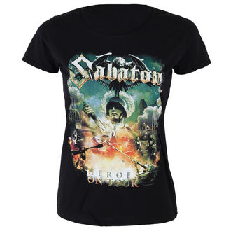 t-shirt metal women's Sabaton - Heroes on tour - NUCLEAR BLAST, NUCLEAR BLAST, Sabaton