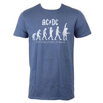 t-shirt metal men's AC-DC - Evolution Of Rock - LIVE NATION, LIVE NATION, AC-DC