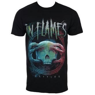 t-shirt metal men's In Flames - Battles Circle - ROCK OFF, ROCK OFF, In Flames