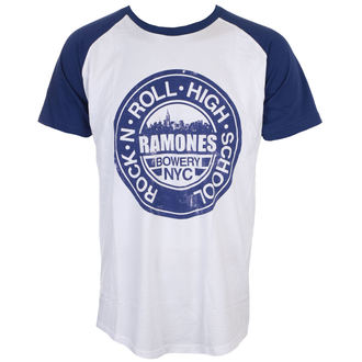 t-shirt metal men's Ramones - Bowery Nyc - ROCK OFF, ROCK OFF, Ramones