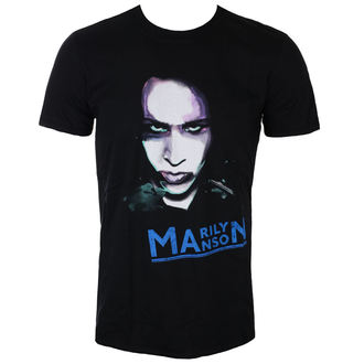t-shirt metal men's Marilyn Manson - Oversaturated Photo - ROCK OFF, ROCK OFF, Marilyn Manson