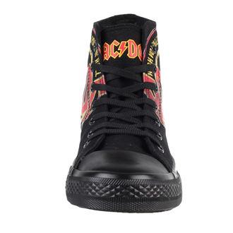 high sneakers women's AC-DC - Sneakers - F.B.I., F.B.I., AC-DC