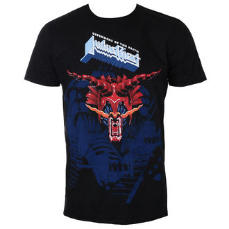 t-shirt metal men's Judas Priest - Defenders Blue - ROCK OFF, ROCK OFF, Judas Priest