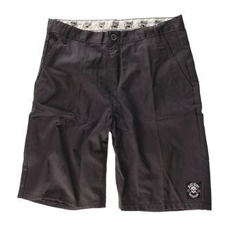 shorts men BLACK HEART - Chino - Grey - BH158