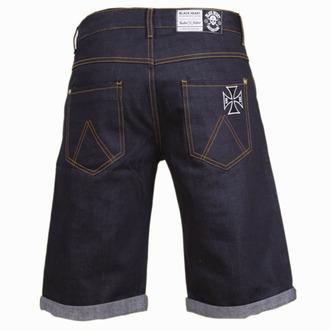 shorts men BLACK HEART - Cross - Denim, BLACK HEART