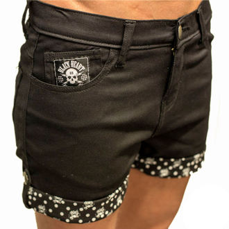 shorts women BLACK HEART - Mark - black - BH160