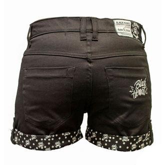 shorts women BLACK HEART - Mark - black - BH160