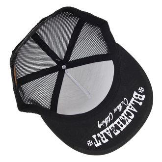 cap BLACK HEART - Loud And Fast - black - BH122