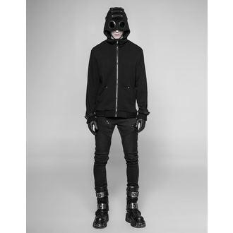 hoodie men's - Nux - PUNK RAVE - WY-921 BK