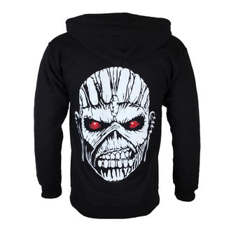 hoodie men's Iron Maiden - Eddie Axe White - ROCK OFF - IMHOOD05MB