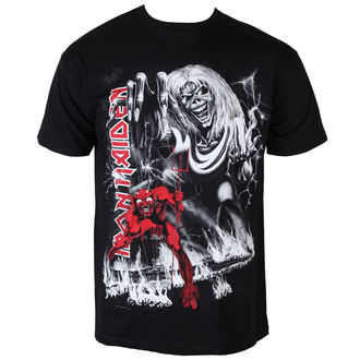 t-shirt metal men's Iron Maiden - - ROCK OFF - IMTEE54MB