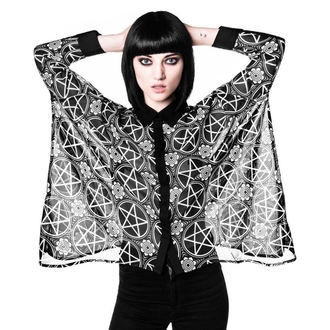 shirt women's KILLSTAR - Pentagram Chiffon - Black, KILLSTAR