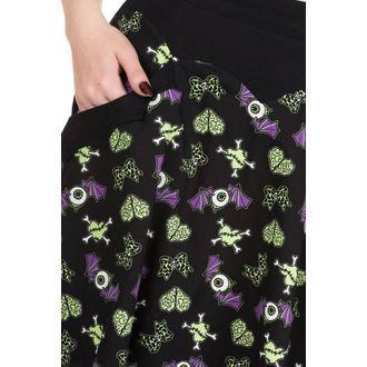 skirt women's BANNED - SK2075R/BLK/GRN