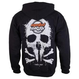 hoodie men's - Black - METALSHOP, METALSHOP