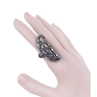 ring RESTYLE - Hollow Moon Silver, RESTYLE