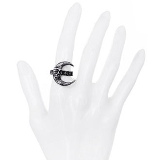 ring RESTYLE - Skull Moon Silver, RESTYLE