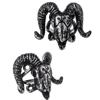 ring Restyle - Ram Skull Silver, RESTYLE