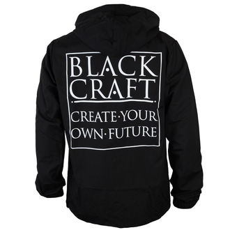 spring/fall jacket men's - Create Your Own Future Windbreaker - BLACK CRAFT, BLACK CRAFT