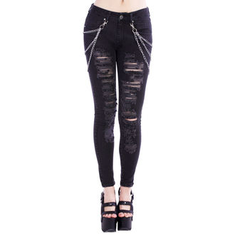 pants women Disturbia - Black Metal, DISTURBIA