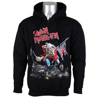 hoodie men's Iron Maiden - Scuffed Trooper - ROCK OFF, ROCK OFF, Iron Maiden