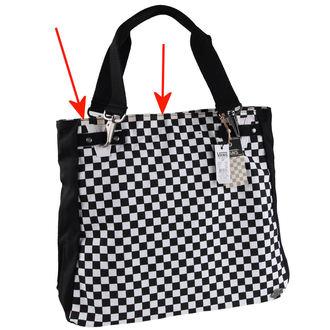 handbag , bag VANS - Chk should Bag - Black / White - DAMAGED, VANS