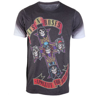 t-shirt metal men's Guns N' Roses - Appetite - ROCK OFF - GNRTS25MW