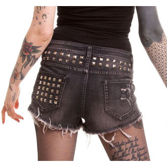 shorts women VIXXSIN - Razer - Black, VIXXSIN