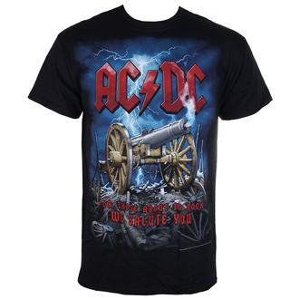 t-shirt metal men's AC-DC - Cannon Carnage - LIQUID BLUE, LIQUID BLUE, AC-DC