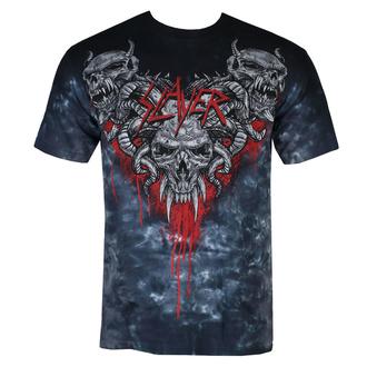 t-shirt metal men's Slayer - Hell Awaits - LIQUID BLUE - 11608