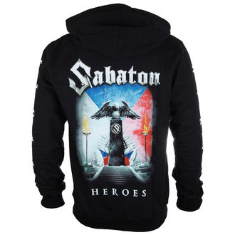 hoodie men's Sabaton - Heroes Czech republic - CARTON, CARTON, Sabaton