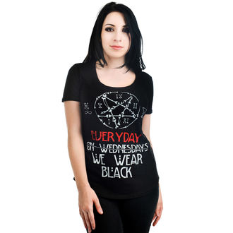 t-shirt gothic and punk women's - Elements - TOO FAST - TOO 013
