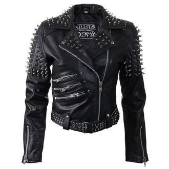 leather jacket women's - Spike Leather - KILLSTAR, KILLSTAR