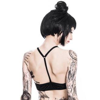 bra women's KILLSTAR - Burn Baby - Black, KILLSTAR
