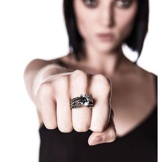 ring KILLSTAR - Soulkeeper Engagement - Silver, KILLSTAR