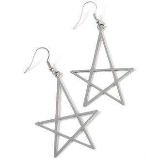 earring KILLSTAR - Wicca Earrings - Silver, KILLSTAR
