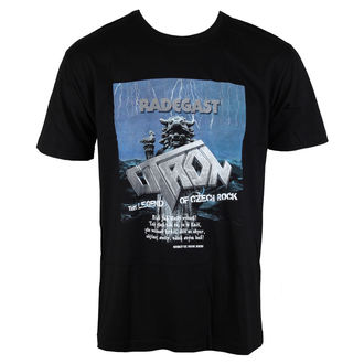 t-shirt metal men's Citron - Radegast -, Citron