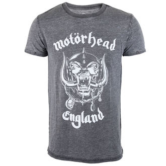 t-shirt metal men's Motörhead - England - ROCK OFF - MHEADBOTEE01MG