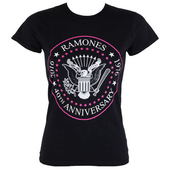 t-shirt metal women's Ramones - 40th Anniversarry - ROCK OFF, ROCK OFF, Ramones
