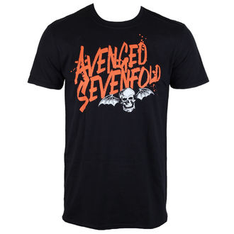 t-shirt metal men's Avenged Sevenfold - LOGO - ROCK OFF, ROCK OFF, Avenged Sevenfold