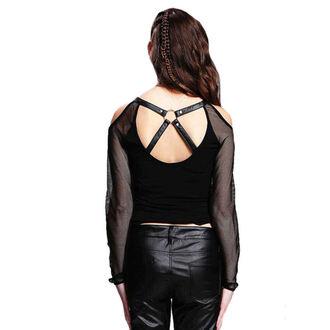 t-shirt gothic and punk women's - Gothic Phoenix - DEVIL FASHION, DEVIL FASHION
