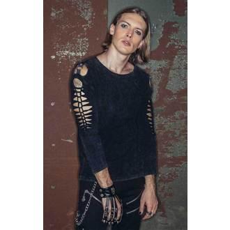 t-shirt gothic and punk men's - Gothic Rune - DEVIL FASHION - TT003