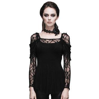t-shirt gothic and punk women's - Gothic Dhalia - DEVIL FASHION - DVTT011